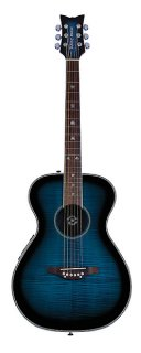 Daisy Rock Pixie Acoustic/Electric  Blueberry Burst ギター