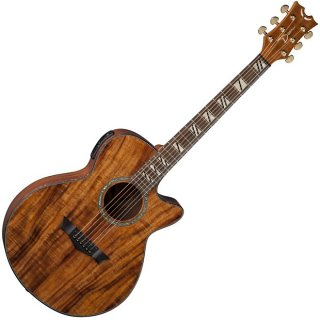 Dean Performer Acoustic-Electric Guitar, Aphex, Koa Top, Back & Sides ギター