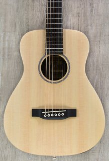 Martin X Series LX1E Little Martin Acoustic-Electric Guitar - Natural ギター