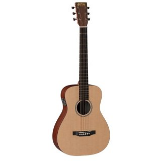 Martin X Series LXME Little Martin Acoustic-Electric Guitar - Natural ギター
