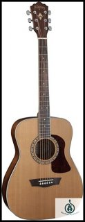 Washburn Heritage 10 Series, Folk, Solid Cedar Top, Mahogany Back & Sides HF11S, free Shipping ギター