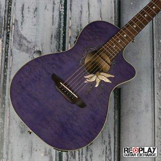 Luna Passionflower Trans Purple/QM ギター