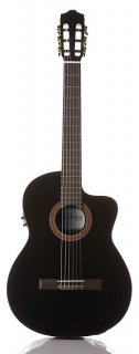 Cordoba C5-CET BK - Thin body Nylon String Acoustic Electric Guitar - Black ギター