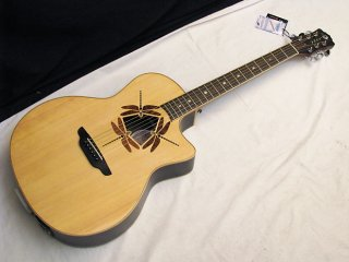 LUNA Oracle Dragonfly acoustic electric GUITAR - Solid Spruce Top ギター