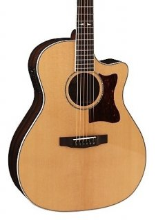 Cort Grand Regal, Solid European Spruce Top, Ziricote Back & Sides, Fishman Preysys EQ ギター