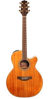 Takamine NEX With Cutaway Acoustic / Electric Guitar, Koa Top, B/S, Natural Gloss - GN77KCE ギター