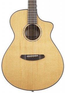 Breedlove Pursuit Concert CE Acoustic/Electric Guitar Natural - Gig Bag ギター