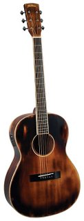 Morgan Monroe Time Worn 00 Acoustic-Electric  w/Gigbag  and Humidifier ギター