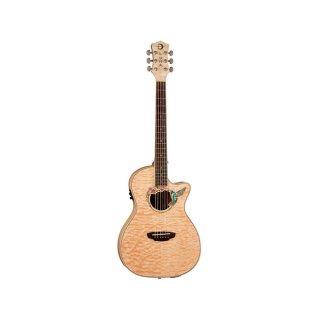 Luna Guitars Fauna Series Hummingbird Parlor Acoustic Electric Guitar ギター