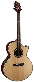 Cort NDX Series NDX50 Acoustic/Electric Guitar, Natural ギター