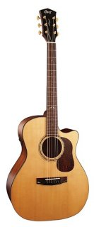 Cort Gold Series Auditorium Cutaway Body with Fishman Flex Blend Electronics ギター