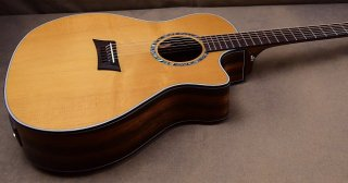 Michael Kelly MK3DG Acoustic/Electric Guitar w/Discrete Fishman Sonitone Active System ギター