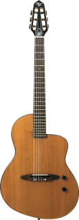 Michael Kelly Rick Turner series N6 acoustic electric nylon guitar - High Gloss Natural ギター