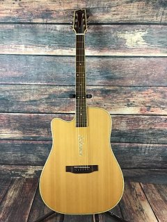 Boulder Creek Left Handed ECR4NS Acoustic Electric Guitar - Guitar Only ギター