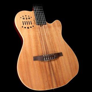 Godin ACS-SA Koa Nylon-String Acoustic-Electric Guitar Natural ギター