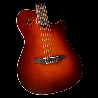 Godin Multiac Encore Nylon Acoustic/Electric Guitar Burnt Umber ギター