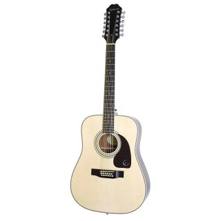 Epiphone DR212 12-String Dreadnought Acoustic Guitar ギター
