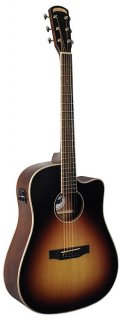 Morgan Monroe Music Row Dreadnought Acoustic/Electric? ギター