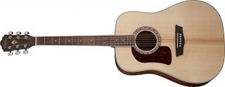 Washburn HD10SLH-O Left Handed Heritage Series Acoustic Guitar with Solid Sitka Spruce top ギター