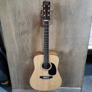 Recording King RD-06 Solid Top Dreadnought Acoustic Guitar Natural ギター