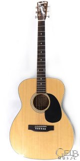 Blueridge BR-63 000 Style Solid Top Acoustic Guitar in Natural - BR-63 ギター