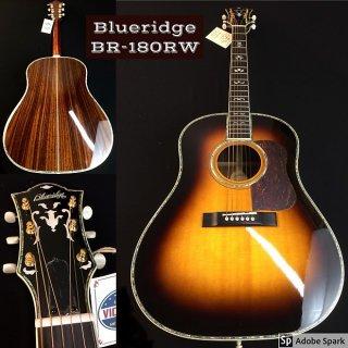 Blueridge BG-180RW Dreadnaught Slope Shoulder Sunburst ギター