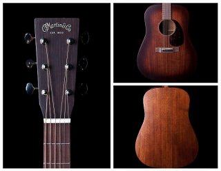 Martin D15M 15-Series Burst Mahogany Dreadnought Acoustic Guitar ギター
