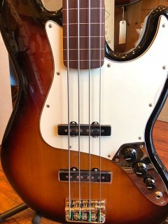 Fender Jazz Bass Guitar Fretless Pau Ferro Fingerboard Brown Sunburst ギター