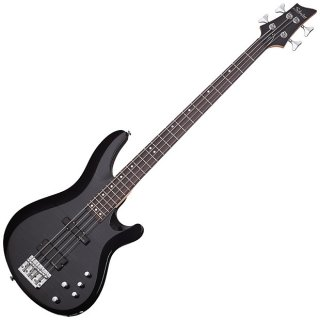 Schecter C-4 DLX Deluxe Bass Guitar STBLK ? Authorized Dealer ギター