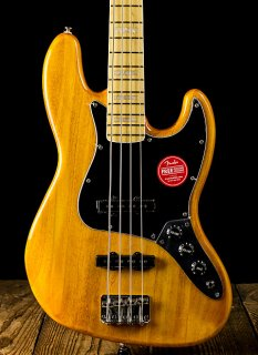 Squier Vintage Modified Jazz Bass '77 - Amber - Free Shipping ギター