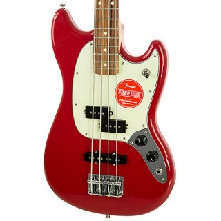 Brand New Fender Mustang PJ Bass Torino Red Electric Bass ギター