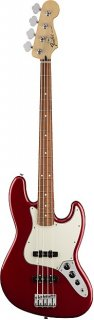 Fender Standard Jazz Bass Candy Apple Red, Rosewood Fretboard ギター