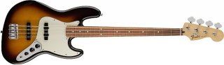 Fender Standard Jazz Bass Guitar Pau Ferro Fretboard Brown Sunburst ギター