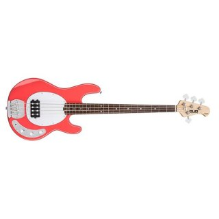Sterling by Music Man Ray4 - 4-String Electric Bass - Fiesta Red ギター