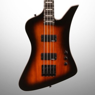 Jackson JS Series Kelly Bird JS2 Electric Bass, Tobacco Burst ギター