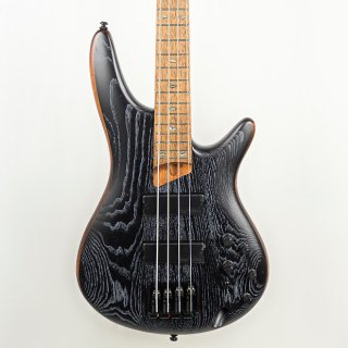 Ibanez SR670SKF 4-String Bass Guitar in Silver Wave Black Flat ギター