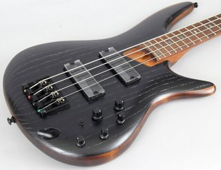 Ibanez SR670 Bass Guitar | Silver Wave Black ギター
