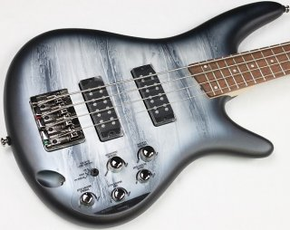 Ibanez SR300E 4-String Electric Bass, Black Planet Matte Finish, NEW! #ISS2205 ギター