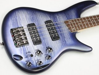 Ibanez SR300E 4-String Electric Bass, Navy Planet Matte Finish, NEW! #ISS2206 ギター