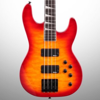 Jackson JS3Q Concert Electric Bass, Cherry Sunburst ギター