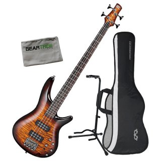 Ibanez SR400EQM DEB SR Standard 4-String Bass Bundle Dragon Eye Burst ギター
