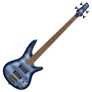 Ibanez SR300E 4-String Electric Bass Guitar Navy Planet Matte ギター