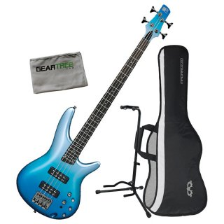 Ibanez SR300E OFM 4-String Electric Bass Guitar Bundle Ocean Fade Metallic ギター