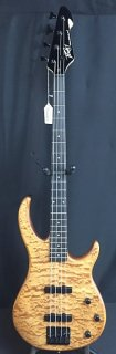 Peavey Millennium 4 4-String Bass Guitar Satin Quilted Natural ギター