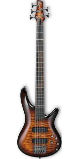 Ibanez SR400EQMDEB 5-String Bass Dragon Eye Burst ギター