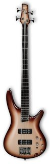 Ibanez SR300ECCB 4-String Electric Bass Guitar Charred Champagne Burst ギター