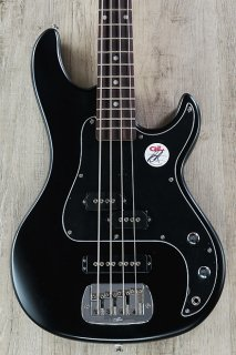G&L Tribute SB-2 4-String Electric Bass, Rosewood Fingerboard - Black Frost ギター