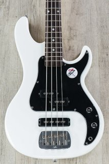 G&L Tribute SB-2 4-String Electric Bass, Rosewood Fingerboard - White ギター