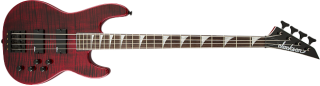 Jackson X Series Concert  Bass CBXNT IV, Rosewood Fingerboard, Transparent Red 885978657087 ギター