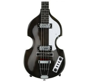 Hofner HI-BB-TBK Ignition Violin Bass, Transparent Black, Bass Only ギター